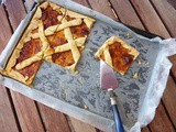 Crostata with Homemade Peach Jam