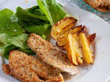 Easy Healthy Baked Breaded Chicken Breast