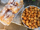 Fried Carnival Foods: 2 Italian Traditions Chiacchiere and Struffoli