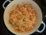 Spaghetti with Meatball Sauce