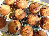 Toasted Butter Wild Berry Muffins