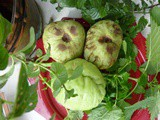 Variety of Local Unusual Fruits and Vegetables to Create a Festive Spirit