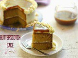 Butterscotch Cake | Butterscotch Sponge | Butterscotch Cake Using Homemade Butterscotch Sauce | Easy Butterscotch Cake