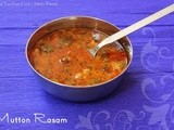 Chettinad Mutton Rasam | Spicy Tangy Indian Mutton Soup | South Indian Mutton Rasam