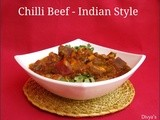 Chilli Beef - Indian Style