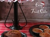 Easy Fruit Cake | Boiled Fruit Cake | Easy Christmas Cake | Non-Alcoholic Fruit Cake