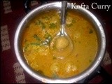 Kofta Curry | Meat Balls Curry - Post From a Reader