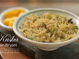 Kuska Recipe | Plain Biryani | Vegan Biryani | Easy Biryani Recipe Without Meat Or Vegetables