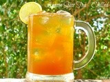 Lemon Spice Tea - Hot & Chilled Versions