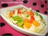 Mixed Vegetable Salad Chat