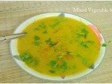 Mixed Vegetable Soup - Post From a Reader