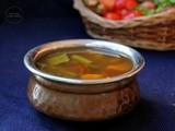 Mixed Vegetable Soup South Indian Style | Clear Vegetable Soup | Vegetable Stock | Vegetable Soup Using Pressure Cooker