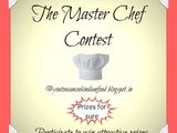 My First Event - The Master Chef Contest - Win attractive prizes