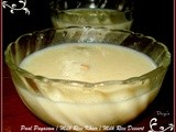 Paal Payasam / Milk Rice Kheer / Milk Rice Dessert