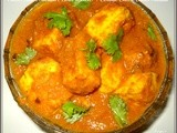 Paneer Butter Masala (Hotel Version) / Cottage Cheese Butter Masala