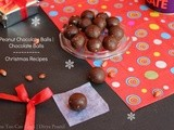 Peanut Chocolate Balls | Chocolate Balls | Christmas Recipes