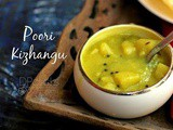Poori Kilangu Recipe | Poori Masala | Potato Masala For Poori | Urulaikilangu Masala For Poori | Side Dish For Poori | Puri Kilangu | Easy Potato Masala