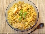 Simple Chicken Biryani - Using Normal Rice