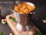 Soya Chunks Curry / Meal Maker Curry