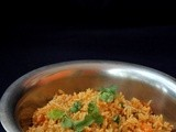Vegetable Masala Rice | Butterbeans Carrot Masala Rice