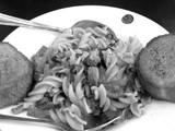 Black and White Wednesday - Pic-a-pasta