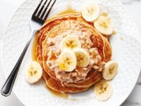 Banana and Peanut Butter Vegan Pancakes