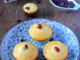 {Guest Post} – Cranberry Muffins by Prathibha of 'The Chef and Her Kitchen'