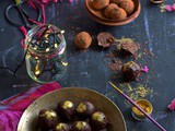 {Guest Post} – Dark chocolate Christmas Cake Truffles by Shibani of 'Pearlsofeast'
