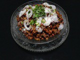 {Ramadan Special} – Black Chickpeas Chaat by Afreen of 'Afreen's Kitchen'