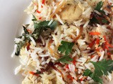 {Ramadan Special} – Safed Murgh Biryani by Afroz of 'World Cafe For u'