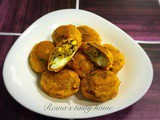 {Ramadan Special} – Stuffed Egg Fry by Resna of 'Resna's Tasty Home'