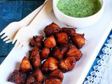 Tandoori Chicken Bites with Mint-Yogurt Dip