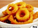 Yummy Gold Onion Rings
