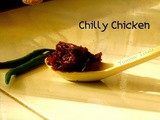 Dry Kerala Chilli Chicken (My Mom's Recipe)