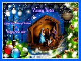 Yummy Treats, Wishes you all Merry Christmas & Happy New Year in advance