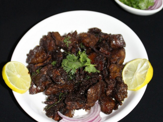 chicken liver recipe in marathi