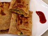 Egg Paratha Recipe, How To Make Anda Paratha | Egg Chapati Roll