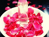 Homemade rose water for face, rose water spray for skin (diy)