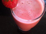 Strawberry juice recipe, how to make strawberry juice