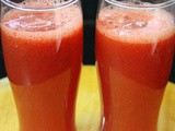Watermelon juice recipe, watermelon drink