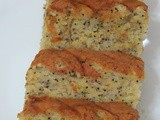 Banana and Poppy Seeds cake
