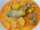 Ikan Sepat Masak Lemak Nenas( Salted Perch Fish And Pineapple in Coconut Milk)