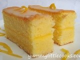 Lemon Cream Sandwich Cake