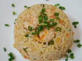 Salted Egg Whites Fried Rice
