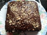 Eggless Chocolate Tofu Cake