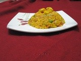 Daliya Upma /Cracked wheat and vegetable pulao