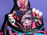 Monster high theme - torta e biscotti