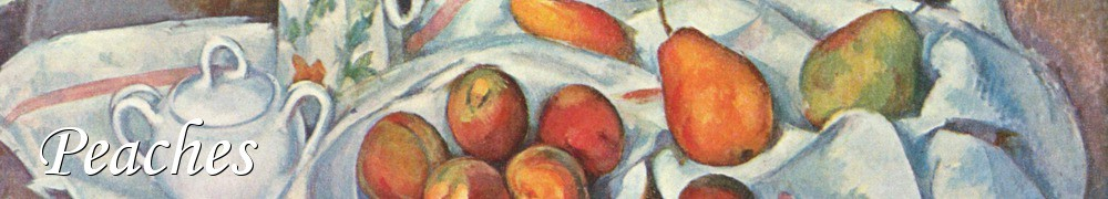 Very Good Recipes - Peaches