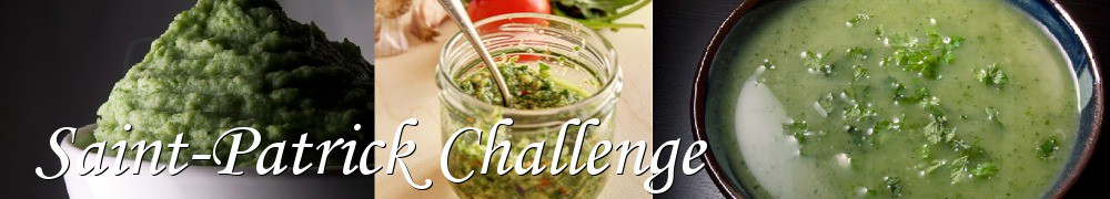 Very Good Recipes - Saint-Patrick Challenge